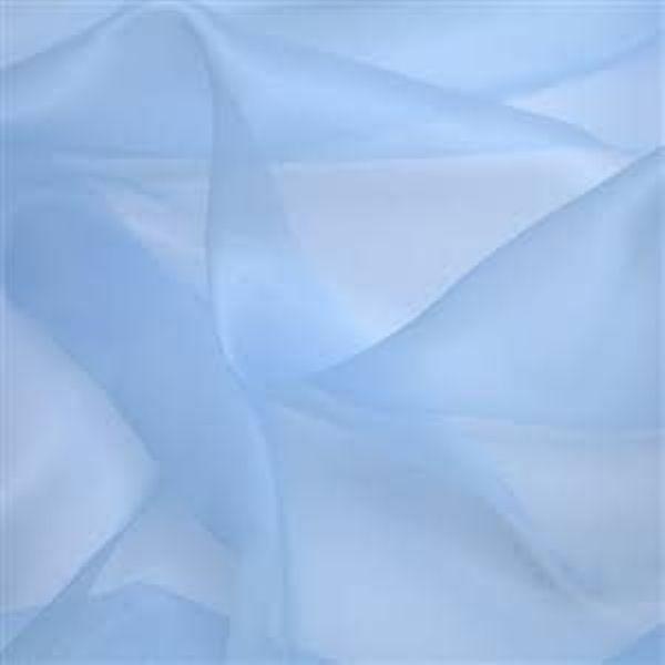 Organza cor Azul Claro (50 x 140)