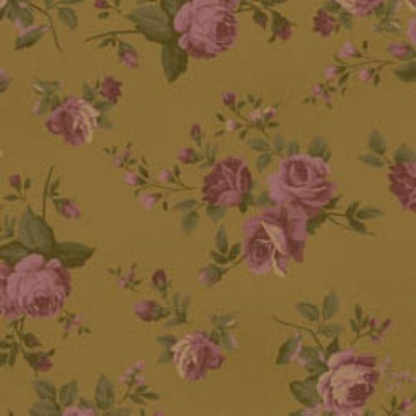 Tecido Floral Medio La Vie en Rose Bege (MV003C02)