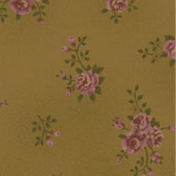 Tecido Floral Pequeno La Vie en Rose Bege (MV004C02)