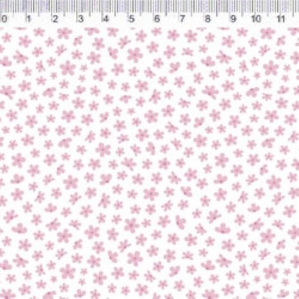 Tecido Jardim Florzinha Rosa VG065C01