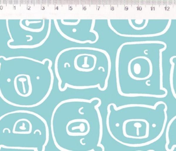 Tecido Urso verde ES024C03