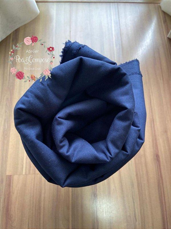 Fustão cor Azul Marinho 50x140