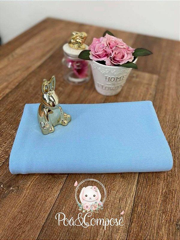 Malha Tricot cor Azul (50x80)