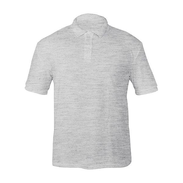 Kit 10 peças - Camiseta Polo Piquet Mescla Masculina