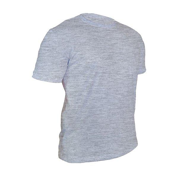Kit 10 peças - Camiseta Algodão Mescla Masculina