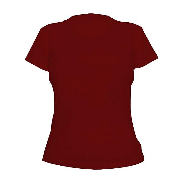 Kit 10 peças - Camiseta Algodão Vermelha Feminina