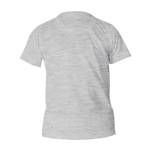 Kit 10 peças - Camiseta Algodão Mescla Infantil