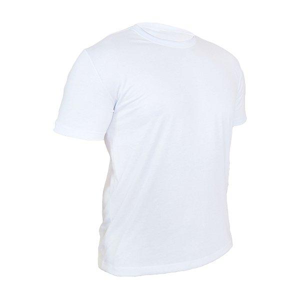 Kit 10 peças - Camiseta PV (malha fria) Branca Masculina