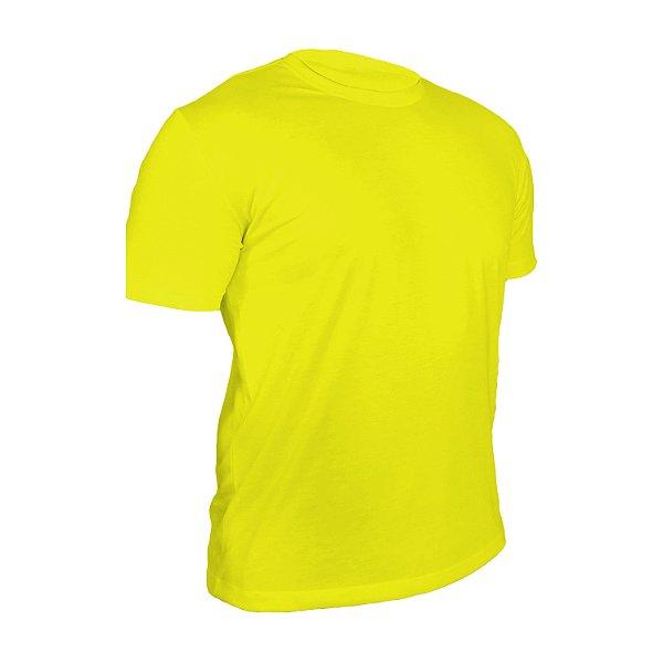 Kit 10 peças - Camiseta Poliéster Anti Pilling Canário Masculina