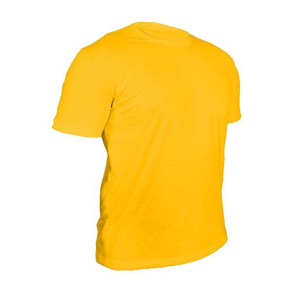 Kit 10 peças - Camiseta Poliéster Anti Pilling Ouro Masculina