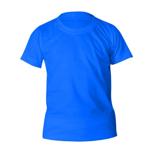 Kit 10 peças - Camiseta Poliéster Anti Pilling Turquesa Infantil