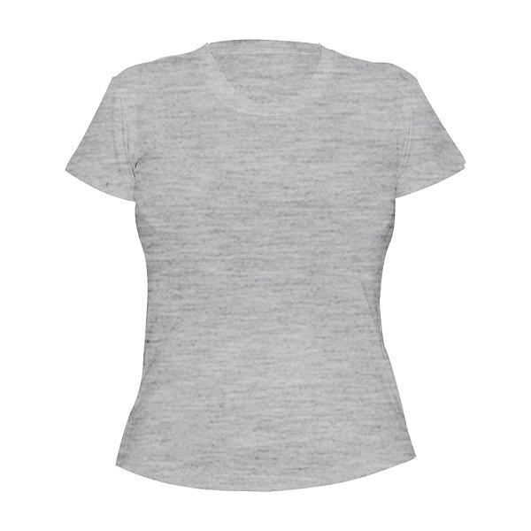 Kit 10 peças - Camiseta Poliéster Mescla Feminina