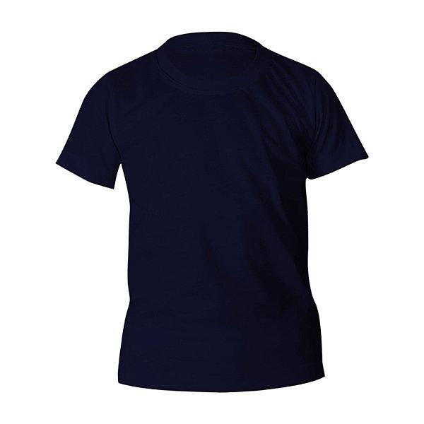 Camiseta Algodão Marinho Infantil