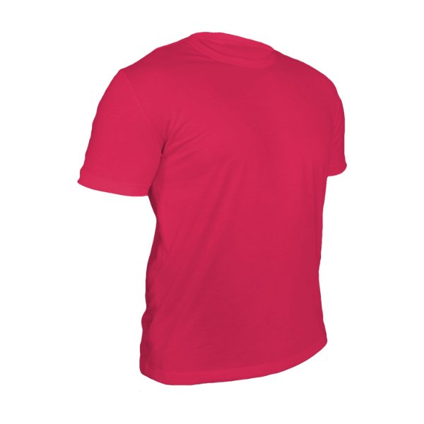 Camiseta Poliéster Anti Pilling Rosa Pink Masculina