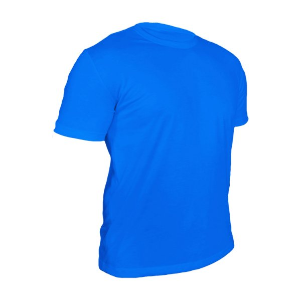 Camiseta Poliéster Anti Pilling Turquesa Masculina