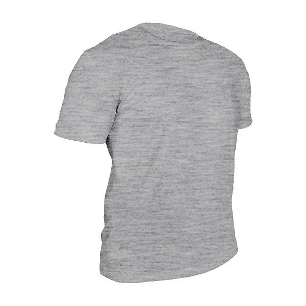 Camiseta Poliéster Mescla Masculina