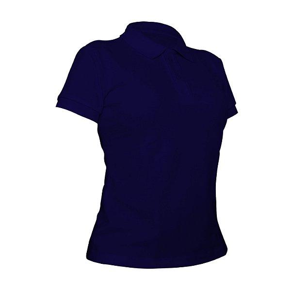 Camiseta Polo Piquet Royal Feminina