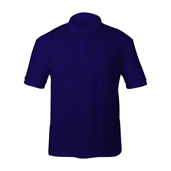 Camiseta Polo Piquet Royal Masculina