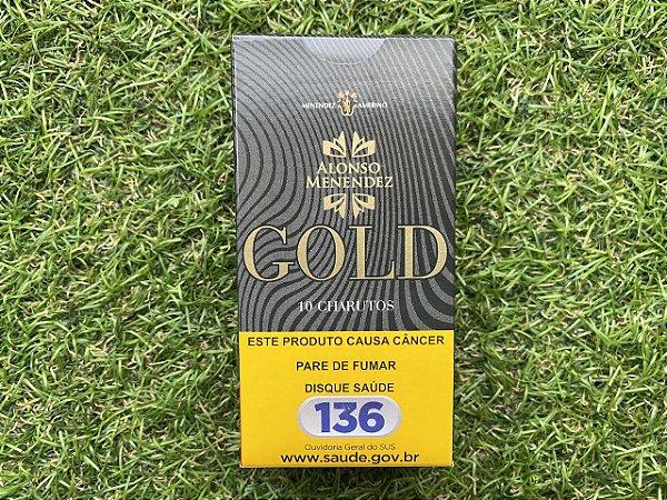Puritos Alonso Menendez Gold Original Petaca com 10