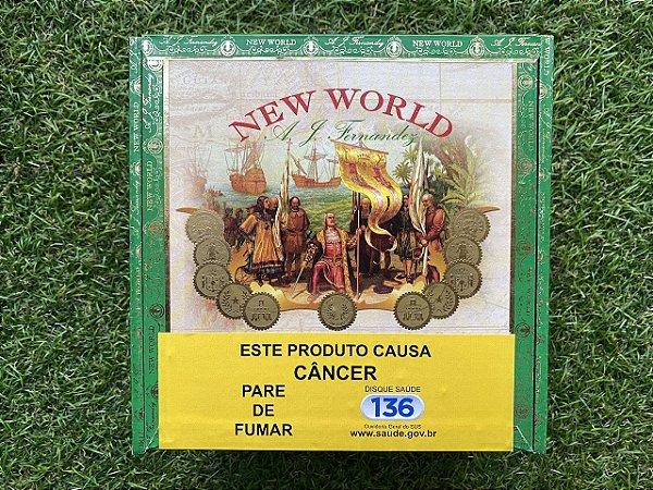 Charuto New World Cameroon Double Robusto - Caixa com 20