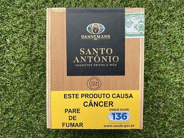 Charuto Dannemann Torpedo 52 Santo Antonio Ed. Ltda - Caixa com 10