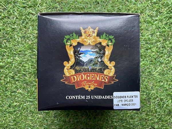 Charuto Diogenes Puentes Premium Patricias Cappuccino - Maço com 25