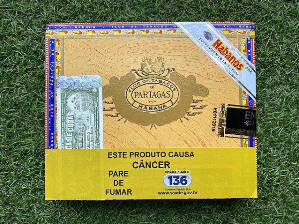 Charuto Cubano Partagas Mille Fleur - Caixa com 10