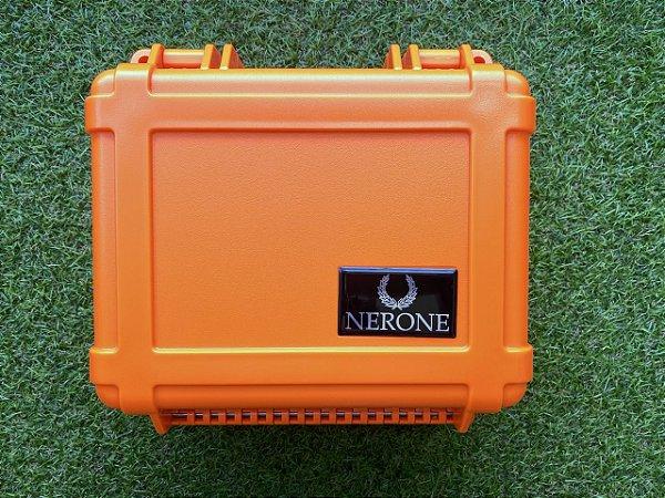 Umidor P/25 charutos NERONE plástico laranja
