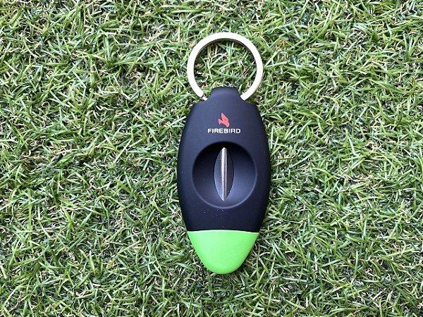 Cortador de Charutos Colibri Firebird Viper V-CUT - Verde