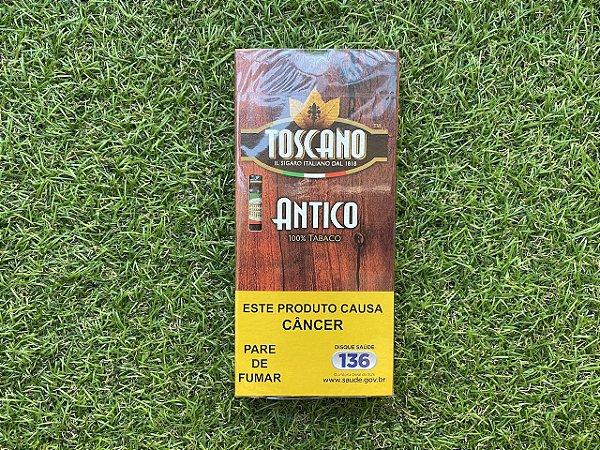 Charuto Toscano Antico - Petaca com 5