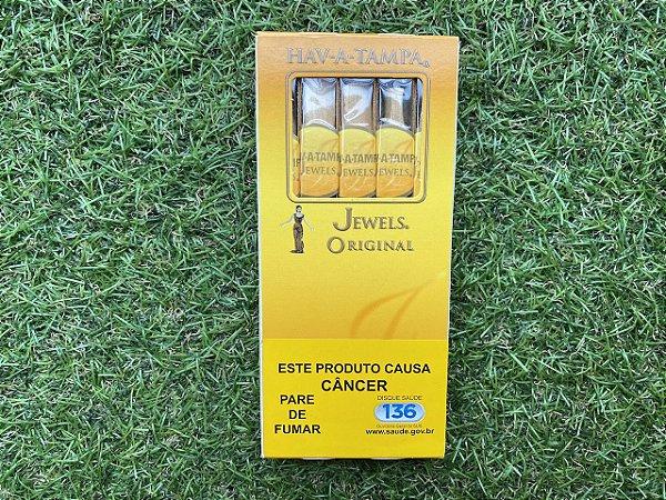 Cigarrilha Hav A Tampa Jewels Original - Petaca com 5