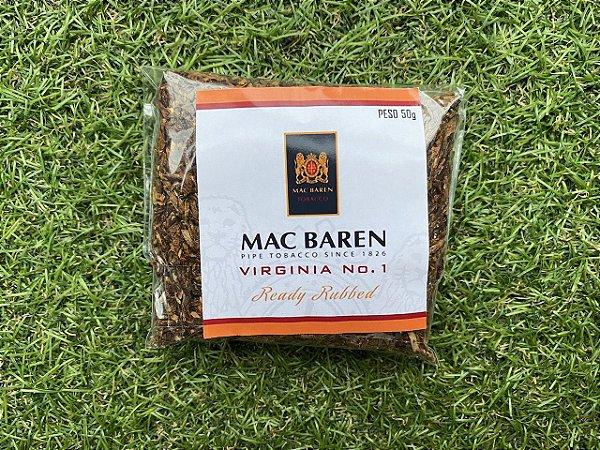 Fumo para Cachimbo Mac Baren Virginia No. 1 Granel - Pct (50g)