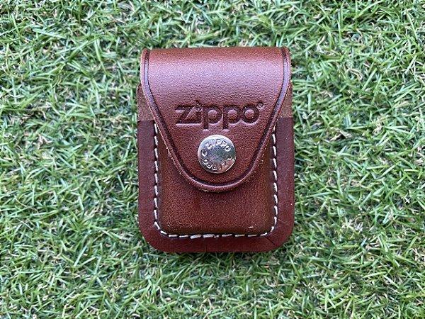 Porta Isqueiro Zippo - Leather Pouch