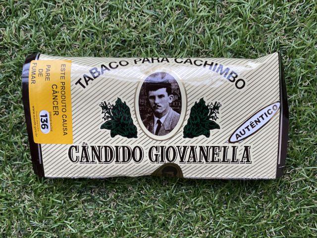 Tabaco Para Cachimbo Candido Giovanella - Autêntico (Pêssego) 45g