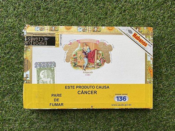 Charuto Cubano Romeo Y Julieta Wide Churchill - Caixa com 10