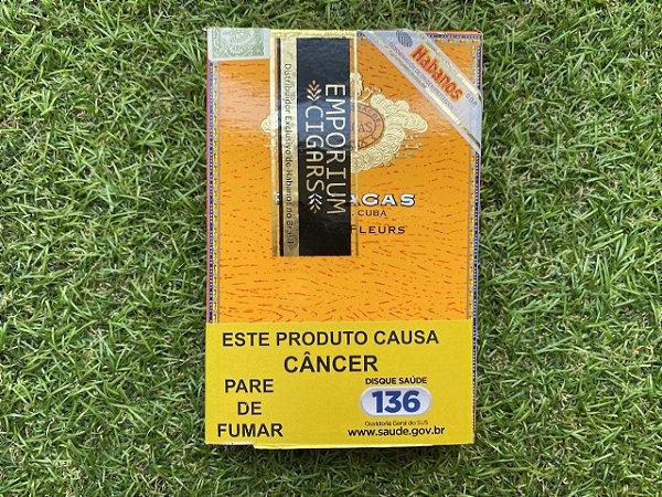 Charuto Cubano Partagas Mille Fleur - Petaca com 5