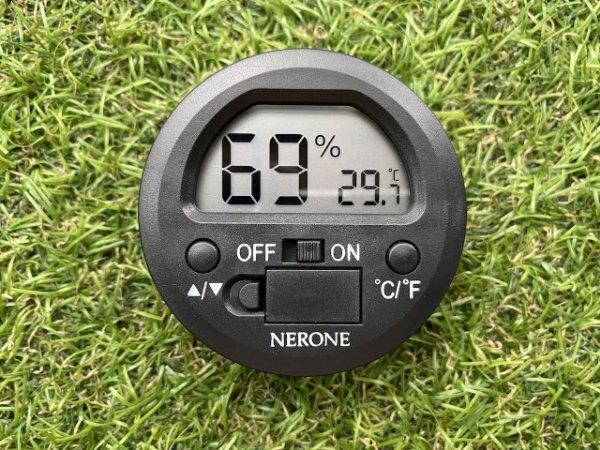 Higrometro Digital Nerone Round