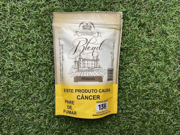 Tabaco para Cachimbo Blend - Pessego 48g