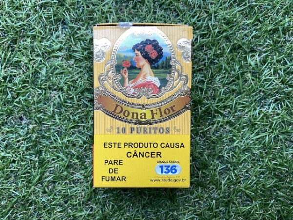 Cigarrilha Dona Flor Puritos C/10