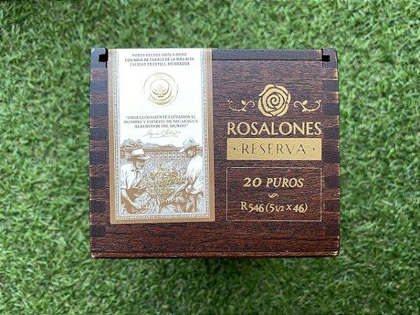 Charuto Joya de Nicaragua Rosalones Reserva RR 546 Corona - Caixa com 20