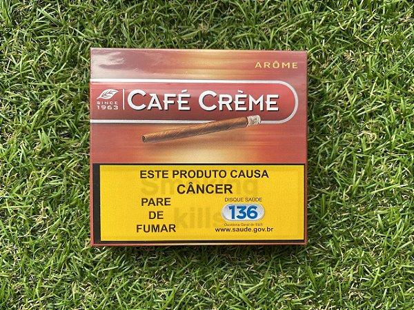 Cigarrilha Café Creme Arôme - 10 unidades