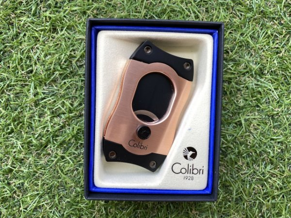 Cortador de Charuto Colibri S-CUT Gold & Black