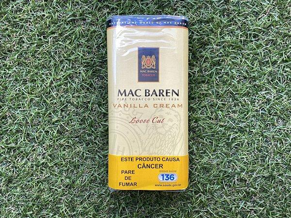 Tabaco para Cachimbo Mac Baren Vanilla Cream - 50g