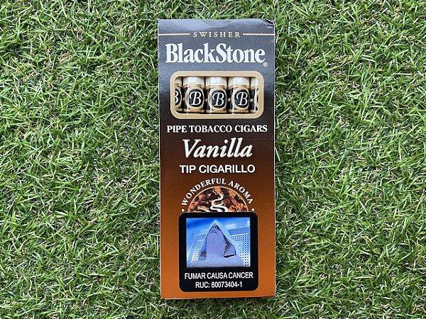 Cigarrilhas BlackStone Baunilha - Petaca com 5