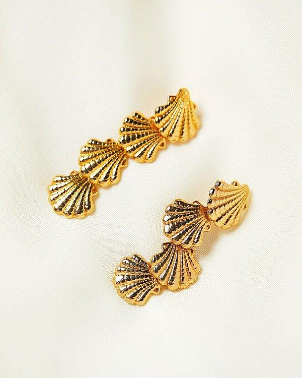 Brinco Mermaid Dourado, Abi project