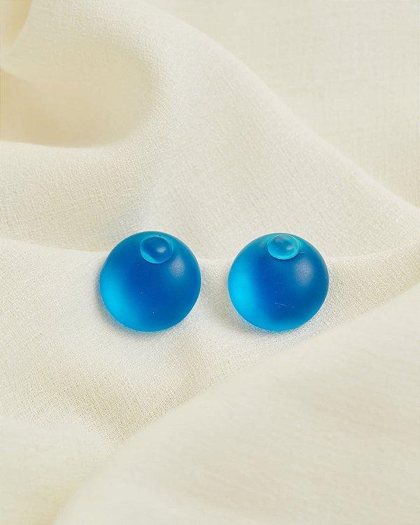 Brinco Piscine Azul - Lelê Saddi para LOOL