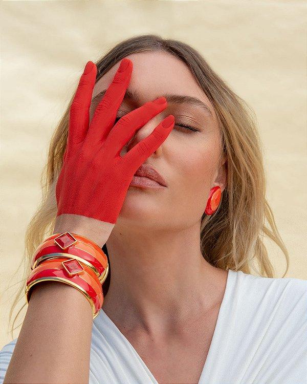 Pulseira Paleta Vermelho, Rosana Bernardes
