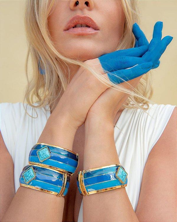 Pulseira Paleta Azul, Rosana Bernarde