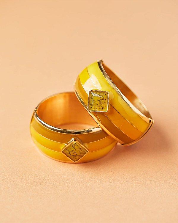 Pulseira Paleta Amarelo, Rosana Bernardes