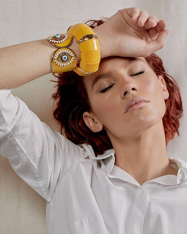 Pulseira Olho Amarelo - Rosana Bernardes